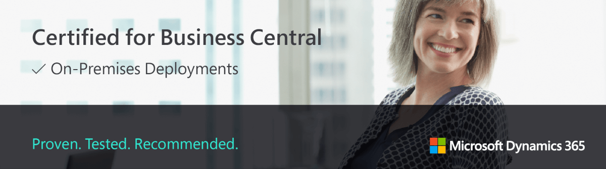 Certified for Business Central - Microsoft Dynamics