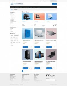 nopCommerce website